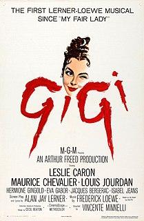 <i>Gigi</i> (1958 film) 1958 film by Vincente Minnelli