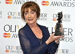 Gillian Lynne Olivier Awards2013.jpg
