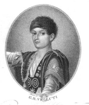 Giovanni Velluti (castrato) - Giovanni Battista Velluti as a young man