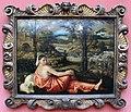 Giovanni cariani, ragazza sdraiata in un paesaggio, 1520-24 ca.JPG