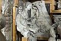 Gipsmodelle Wiener Historismus Hofburg-Keller 2015 Wappen und Wappenhalter Johannes Benk N BU 19 a.jpg
