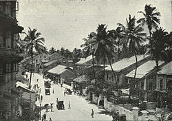 Girgaon back road, c. 1905
