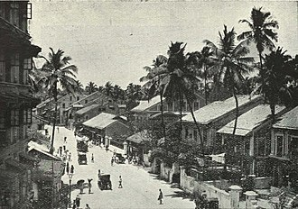 Girgaon - Girgaon back road, c. 1905
