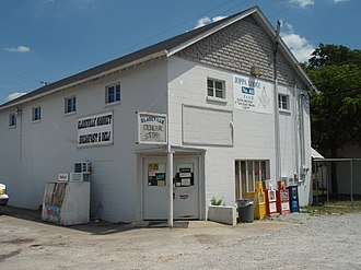 Gladeville, Tennessee - Gladeville Market at the intersection of Stewarts Ferry Pike and McCreary Road