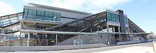 Glenfield railway station, Sydney railway station in Sydney, New South Wales, Australia