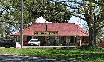 General Store, Glenlyon, Victoria, Australia