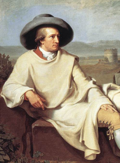 Portrait of Goethe in the Campagna