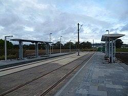 Gogarburn tram stop in the making (geograph 3176726).jpg