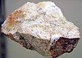 Gold-quartz hydrothermal vein (Shamrock Mine, Union Mining District, Nye County, Nevada, USA) 1 (16530738854).jpg