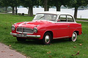 Goliath (company) - Goliath 1100 2-door saloon
