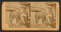 Gossiping at the gate, Charleston, S.C, from Robert N. Dennis collection of stereoscopic views.png
