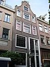 foto van Hoog huis met originele in de gevelcompositie opgenomen insteek