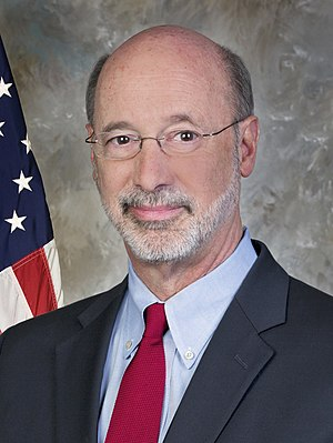 Pennsylvania gubernatorial election, 2014 - Image: Governor Tom Wolf official portrait 2015 (cropped 2)