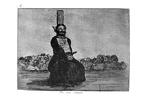 Navaja - A priest executed by garotte by French forces under Napoleon for carrying a navaja