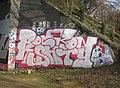 Graffiti at Trumpington, Cambridgeshire 02.jpg