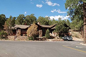 Daniel Ray Hull - Grand Canyon National Park Superintendent's Residence, formerly the first Park Administration Building