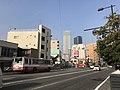 Grand Cross Tower Hiroshima and Hiroshima Prefectural Road No.84.jpg