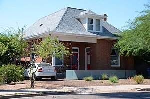 National Register of Historic Places listings in Phoenix, Arizona - Image: Grand Pyramid House (3)