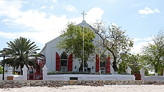 St. Mary's Cathedral, Grand Turk Grand Turk - Cockburn Town, St. Mary's Cathedral - panoramio.jpg
