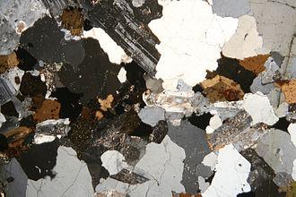 Sericite - Image: Granite pmg ss 2006
