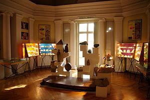 Museum of the Earth, Polish Academy of Sciences - Permanent exhibition: Granites.