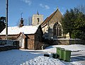 Grantchester, St Mary and St Andrew in the snow - geograph.org.uk - 1654411.jpg