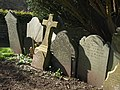 Gravestones, St Stephen's Church, Saltash - geograph.org.uk - 1193816.jpg
