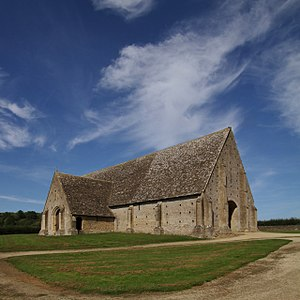 Great Coxwell - Great Coxwell Barn seen from the southwest