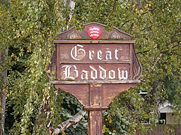 Great Baddow Village Sign - geograph.org.uk - 1499389.jpg