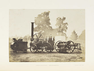 Agricultural machinery industry - Agricultural Implements, 1851.