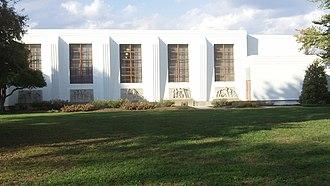 Greenbelt Historic District - Image: Greenbelt Community Center