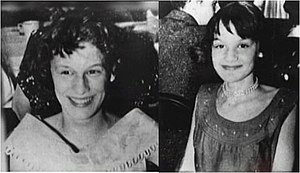 Murder of the Grimes sisters - Barbara (left) and Patricia Grimes