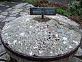 Grinding stone from Llwyngwair Manor - geograph.org.uk - 585039.jpg
