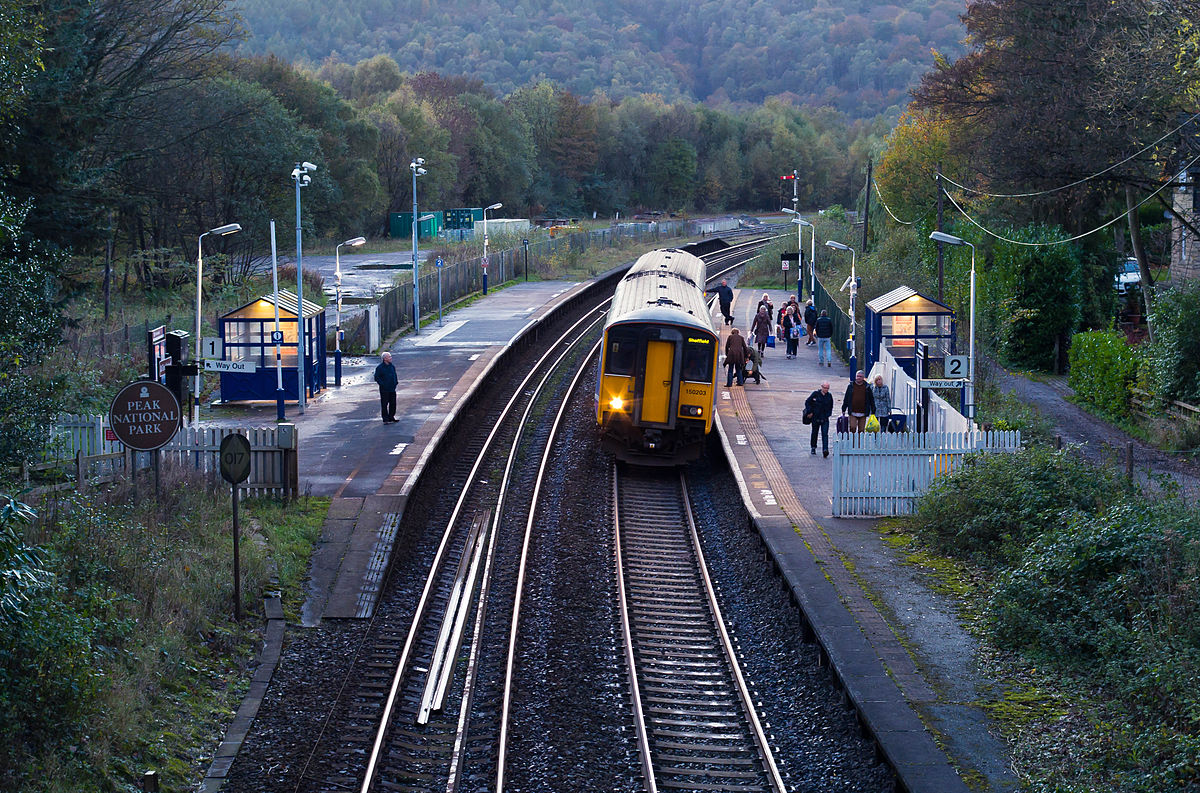 Nearest Service Station >> Grindleford railway station - Wikipedia