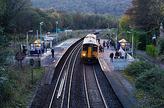 Grindleford railway station Railway station in Grindleford, Derbyshire, England