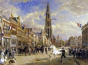 """Otto Eerelman - The """"Paardenkeuring"""" (horse inspection) in Groningen (1920)"""