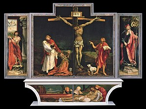 Isenheim Altarpiece - Isenheim altarpiece - First view