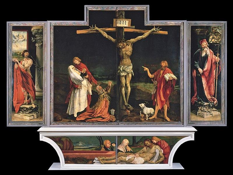 Isenheim altarpiece, Grunewald