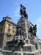 Grunwald (Žalgiris) monument in Krakow.jpg