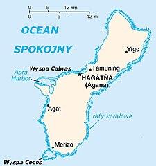 Mapa Guamu