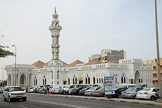 Islam in Bahrain - Gudaibiya mosque, in Manama.
