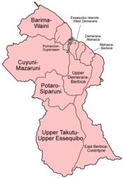 Regions of Guyana - Wikipedia