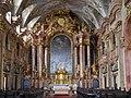 Györ St. Ignaz Innen Chor 3.JPG