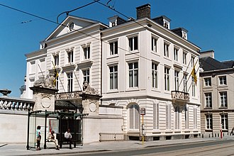 Minister-President of Flanders - The Errera House, the official residence of the Flemish minister-president and ministers