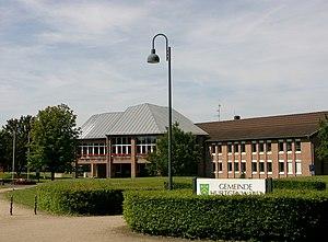Hürtgenwald - The town hall of Hürtgenwald, located in the village of Kleinhau