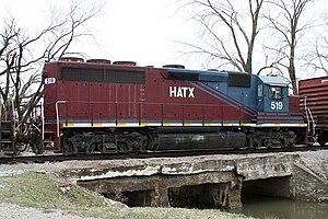 EMD GP40 - Image: HATX 519 EMD GP40