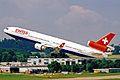 HB-IWB 2 MD-11 Swiss Intl Al ZRH 19JUN03 (8544710486).jpg
