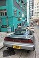 HK 上環 Sheung Wan 差館上街 Upper Station Street sidewalk carpark Honda JJSS white car tail 荷李活大樓 Hollywood Building green July 2018 IX2.jpg