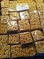HK CWB 維園年宵市場 Victoria Park Fair - food 薩其馬仔餅 Sachima sweet snack Jan-2012.jpg