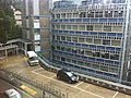 HK Sai Ying Pun Hospital Road DTRC view SYPJCP 西營盤賽馬會分科診所 Sai Ying Pun Jockey Club Polyclinic carpark Aug-2013.JPG